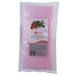 Парафин Yoko PWE R 450 Роза с витамином Е Вакуумная упаковка Объём 450 г.
