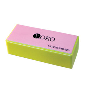 Блок Yoko SBF 020 желтый(#150/220/240/320)