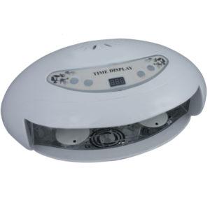 УФ-Лампа YOKO UV 45 W1 (5 ламп по 9 Ватт) на 2 руки таймер с цифровой индикацией вентилятор.Вентилятор используется для охлаждения кожи рук во время полимеризации геля, что помогает избежать неприятных ощущений.